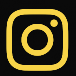 Yellow Instagram icon